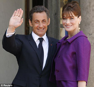 Sarkozi and Bruni