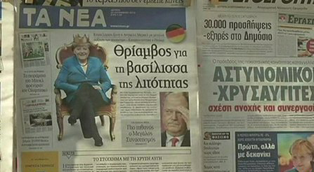 Greece Newspaper
