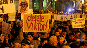 Hungarian protests